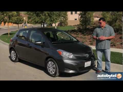 2013 Toyota Yaris Test Drive & Subcompact Car Video Review