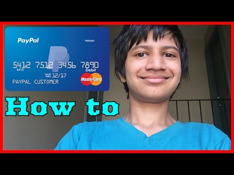 How To Get Paypal Prepaid MasterCard And How To Activate It For Free