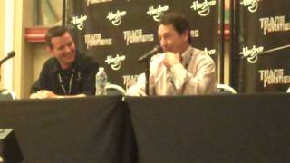 Optimus Prime Meets Eeyore! Peter Cullen at Botcon 2010