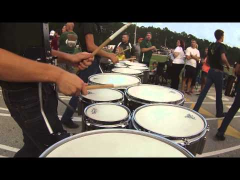 Fleming Island High School Drumline Track Routine 8/29/2014