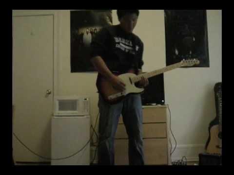 Wayne Krantz - Infinity Split (guitar cover)