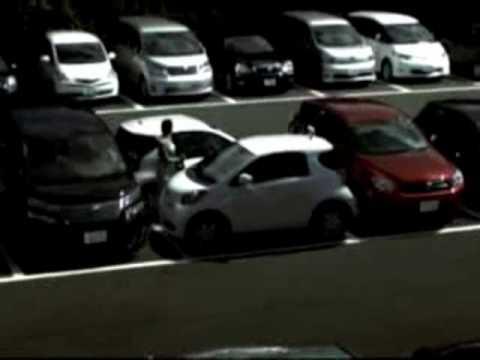 Dando para dois no estacionamento..
