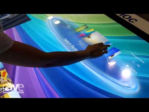 InfoComm 2015: Sonnoc Demonstrates Multitouch Desk