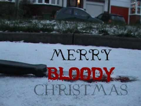 Merry Bloody Christmas! - Retro Trailer (horror / slasher movie 2010)