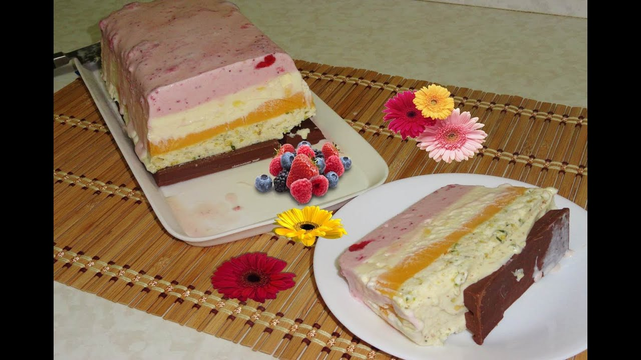 Easy Cassata Ice Cream Recipe By Bhavna Spumoni Ice