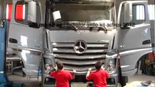 Mercedes Actros 2012 Acitoinox Introduces New Accessories