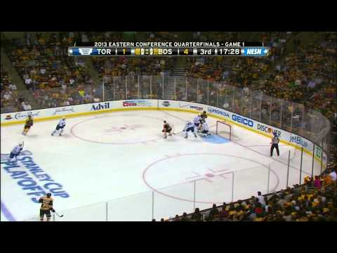 Bruins-Leafs Game 1 2013 ECQF Highlights 5/1/13