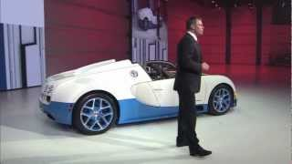 Special Edition Bugatti Veyron 16.4 Grand Sport Vitesse at Volkswagen Group Night in Paris 2012