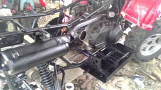 История восстановления квадроцикла CF MOTO 500A