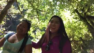 Hiking at Silver Spring Falls Eugene Oregon