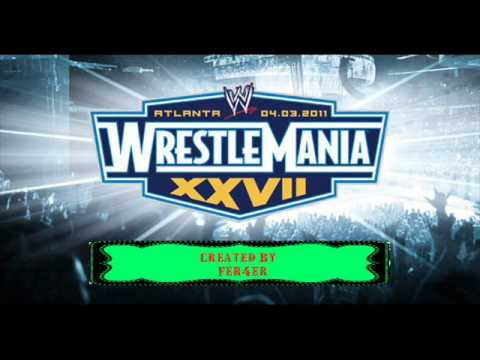 WWE Wrestlemania 27 Official Theme Song Written in the Stars...