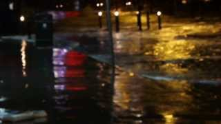 Scarborough Seafront Storm Flood December 5th 2013