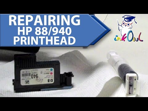 How to Fix a Broken HP 88 or 940 Printhead