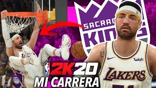 NBA 2K20 MI CARRERA vs SACRAMENTO KINGS - AIRCRISS #21
