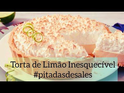 Pitadas de Sales - Torta de Limão