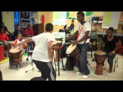 Drum Circle Turns into Dance Off at 'Rhythms' Rehearsal