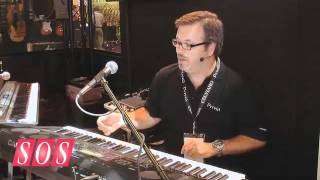 7500 - Casio WK-7500 - Summer NAMM 2011