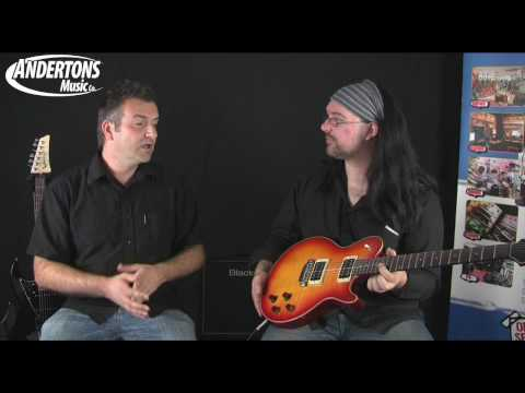 James Tyler Variax JTV-59 Guitar Demo and Overview - Part 1