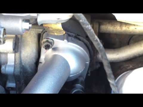 DIY How to replace install thermostat and housing 1999 Toyota Camry