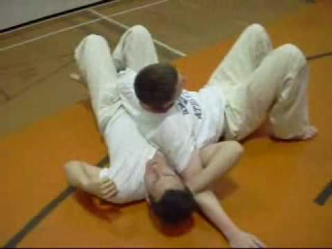 BJJ Crucifix demonstration Image 1
