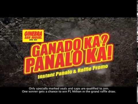 Ganado Ka? Panalo Ka! Instant Panalo and Raffle Promo