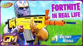 Fortnite Avengers Kids Endgame In Real Life!!