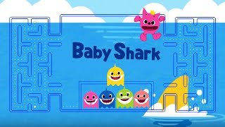 BABY SHARK CHALLENGE | Sing and Dance Animal Song PACMAN edition for #Pinkfong Baby Shark Challenge
