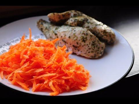Жиросжигание: салат из морковки с хреном [спортивная диета]