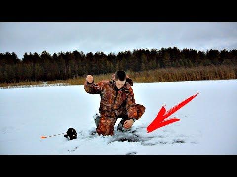 ВОТ ОНА ЩУКА! Открытие сезона Рыбалки на Жерлицы 2017 (Ловля Щуки)