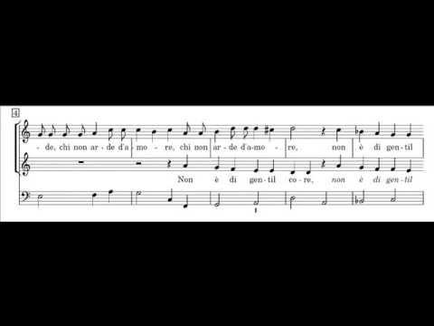 Монтеверди Клаудио - Non è di gentil core