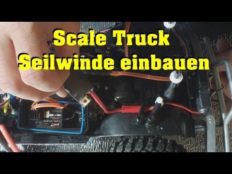 Scale Seilwinde anschließen und kleine Updates und Infos zu Sendung und Autos - Darconizer RC