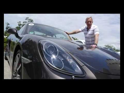 Тест драйв нового Porsche Cayman