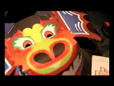 Máscaras de los Diablos Danzantes de Venezuela