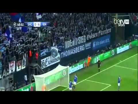 FC Schalke 1-6 Real Madrid (91' Huntelaar | 13', 57' Benzema, 21', 69' Bale, 52', 89' Cristiano)