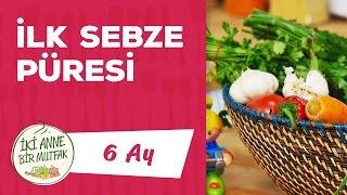 Ek Gıdaya Geçiş - Sebze Püresi Nasıl Yapılır? - Dikkat Edilecekler #1 (6 Ay) | İki Anne Bir Mutfak