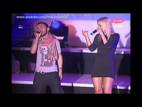 FILIP MITROVI &amp; NEVENA DJORDJEVI - Nesreco (Uzivo Vrnjaka Banja 2012.) 