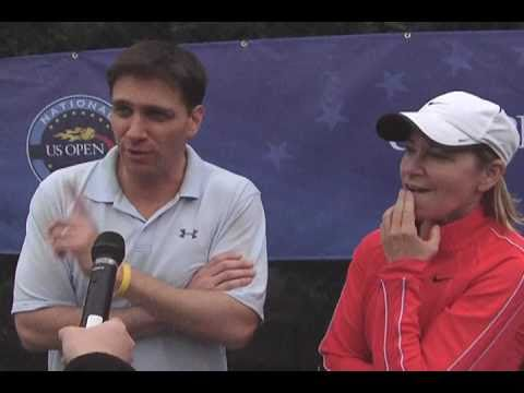2011 USONP: ESPN's Mike Greenberg Teams With Chris エバート