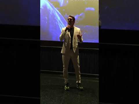 Introduction By Jason Blum And Gerard McMurray At 殺戮元年 The First Purge Premiere 6/20/2018.