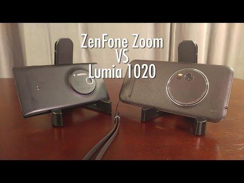 Asus ZenFone Zoom vs Nokia Lumia 1020: Battle of the Zoom