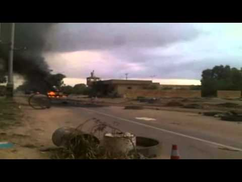 Typical Highway Combat in Libya, Makes Dallas Freeways Seem Tame