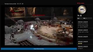 God of war 3 remastered!!! Transmisión de PS4 en vivo de ElYarib