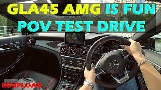 Mercedes Benz GLA45 AMG POV Test Drive in Kuala Lumpur, Malaysia #GLA45AMG #mercedesbenzgla45
