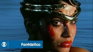 Fantástico: relembre a clássica abertura dos anos 80, com Isadora Ribeiro