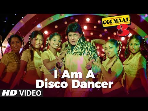 I Am A  Disco Dancer Full Song | Golmaal 3 | Feat. Mithun Chakraborty video