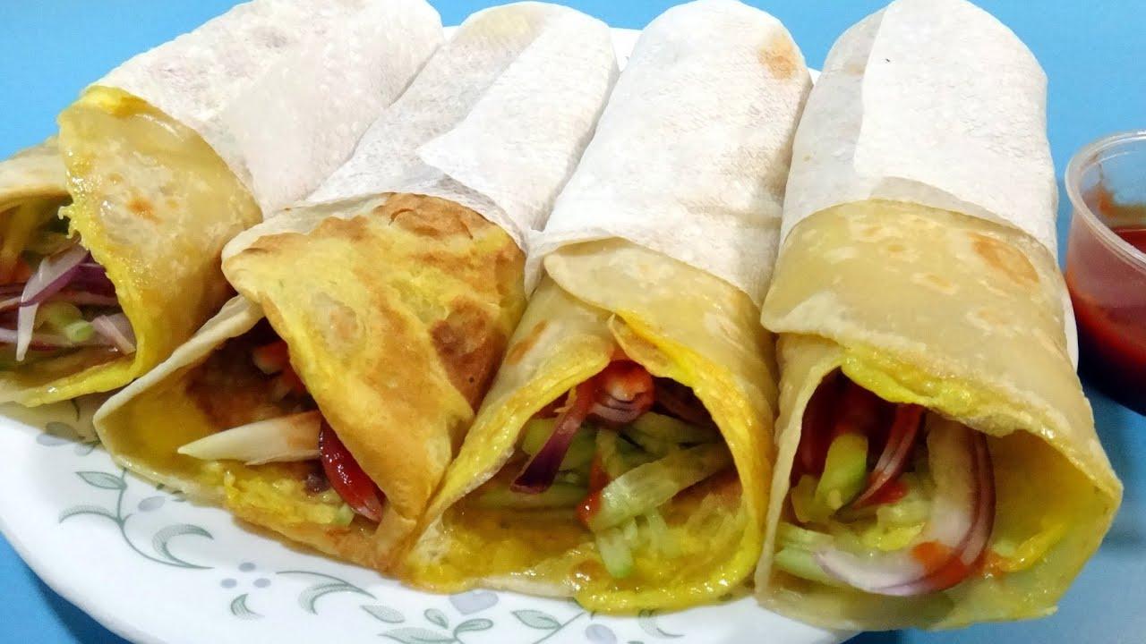 Egg Roll - Indian Cuisine - YouTube