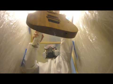 DIY Spray Booth For Painting Guitars 2
