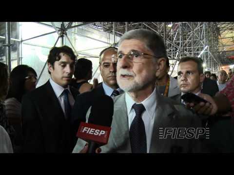 Ministro da Defesa, Celso Amorim, no Humanidade 2012