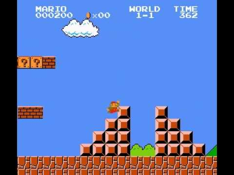 Super Mario Bros - SMB World 1-1 Speedrun - User video