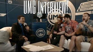 UMG Dallas Interview With Gandhi, Courage, & Bricetacular!