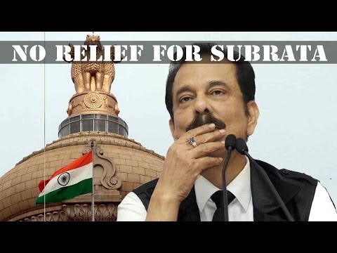 SC rejects Subrata Roy's bail plea; Sahara chief to stay in prison till 25th March